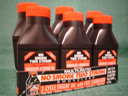 No Smoke 2 Cycle Engine Oil - 6 Bottle Pack