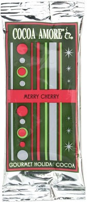 Cocoa Chrismas Silver Retro Wrap